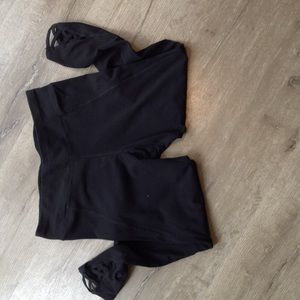 Betsy Johnson Yoga pants black size Xl
